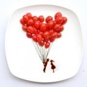 Kunstwerk eten