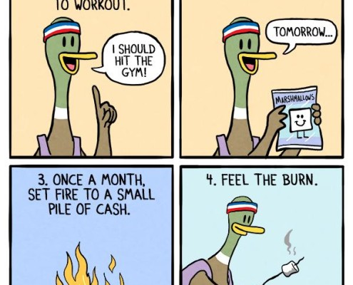 Feel the burn
